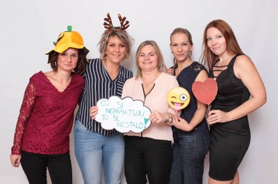 Fotokoutek na vánoční party